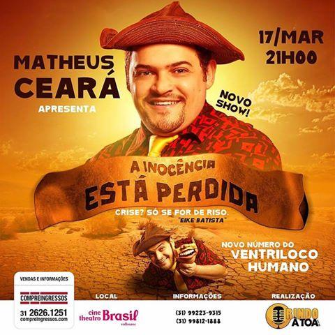 flyer Matheus Ceará