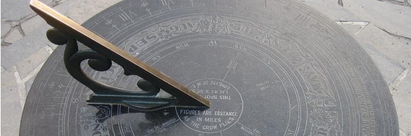 f4fd2875f79 Relógio de Sol - Oficina no Espaço do Conhecimento UFMG