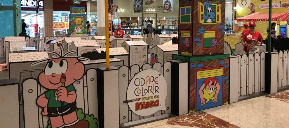 Resultado de imagem para cidade colorir shopping contagem