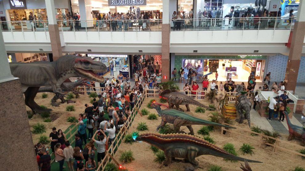 ce217aed5 Exposição Mundo Jurássico no ItaúPower Shopping